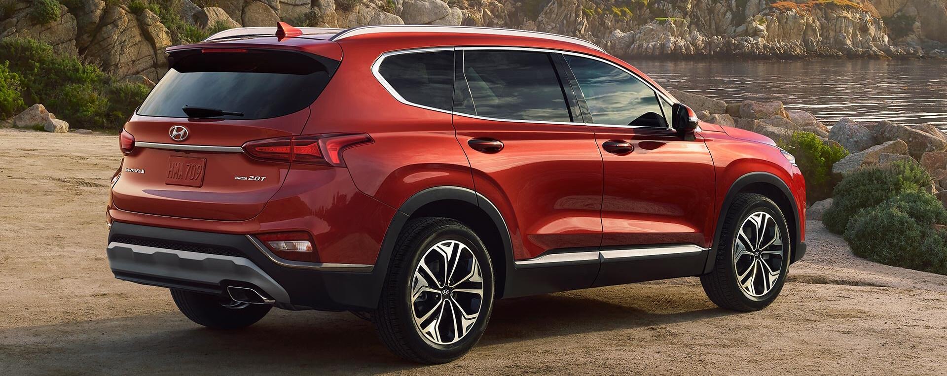 2019 Hyundai Santa Fe Passenger Capacity