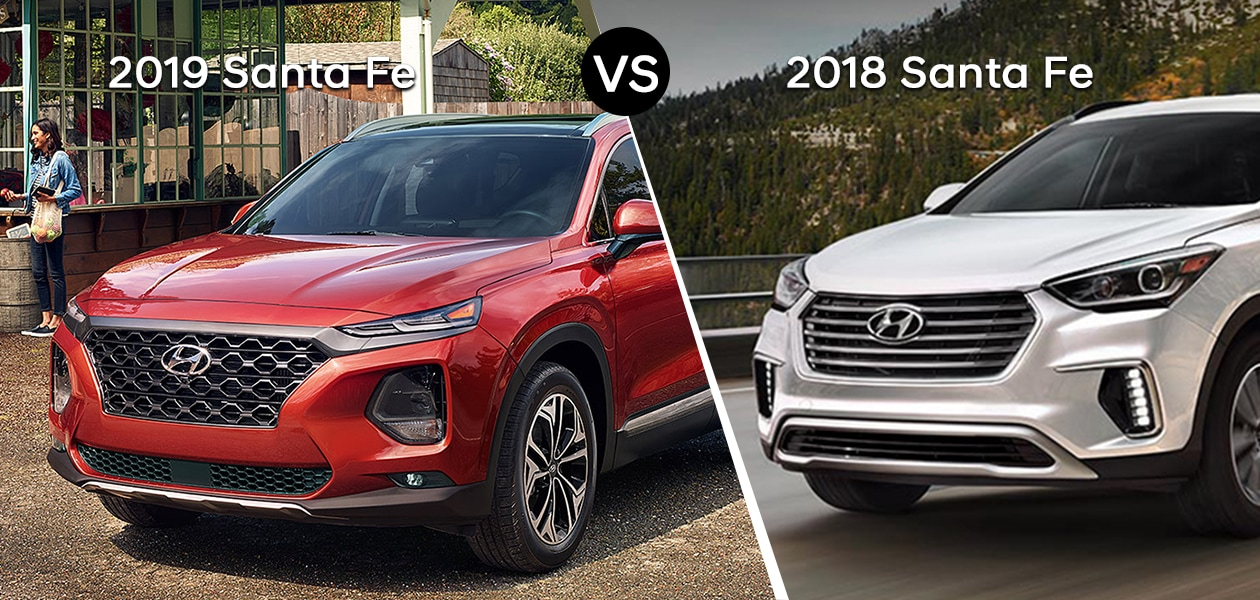 2018 Hyundai Santa Fe vs 2019 Hyundai Santa Fe Chicago