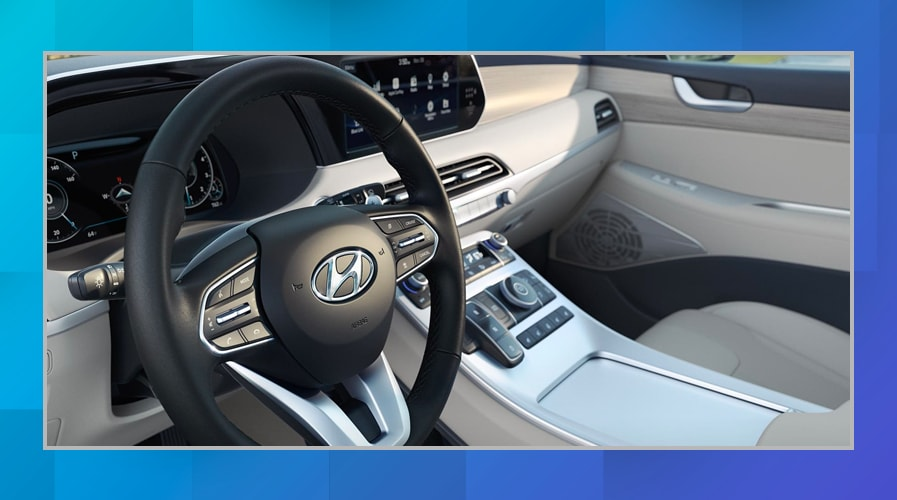 2020 Hyundai Palisade vs. 2019 Toyota Highlander Interior Technology and Space