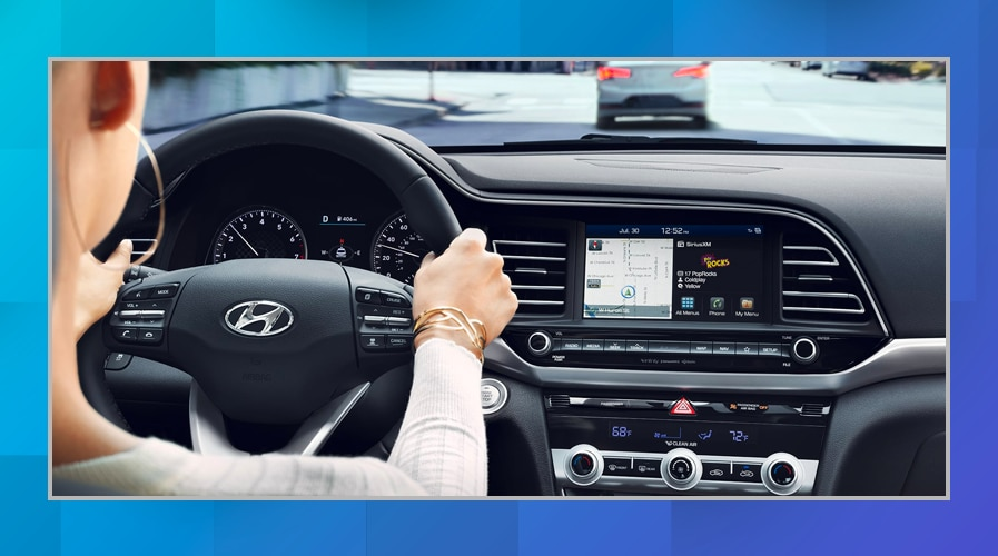 2019 Hyundai Elantra vs. 2018 Ford Focus Available Safety Features Chicago IL