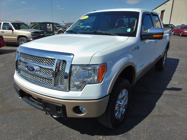 2012 Ford F-150 Lariat Crew Cab Pickup - Short Bed