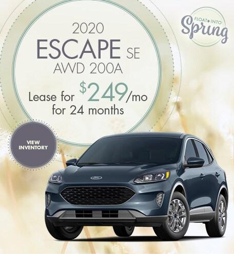 2020 Escape SE AWD 200A