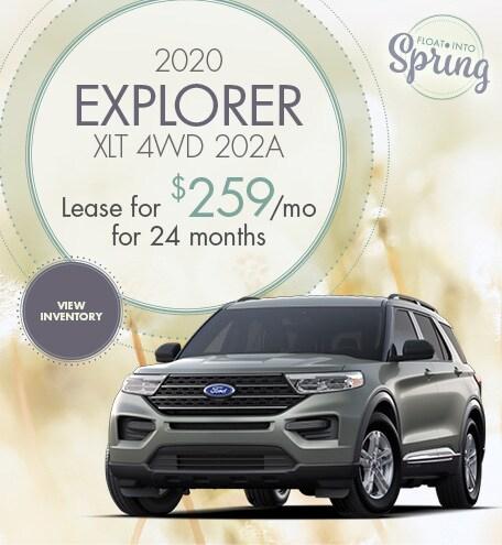 2020 Explorer XLT 4WD 202A