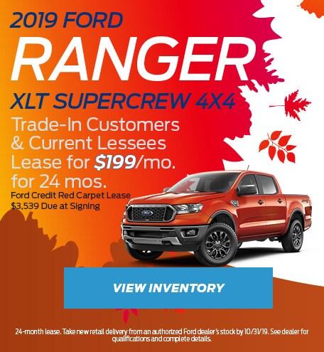 2019 Ford Ranger XLT SuperCrew 4x4