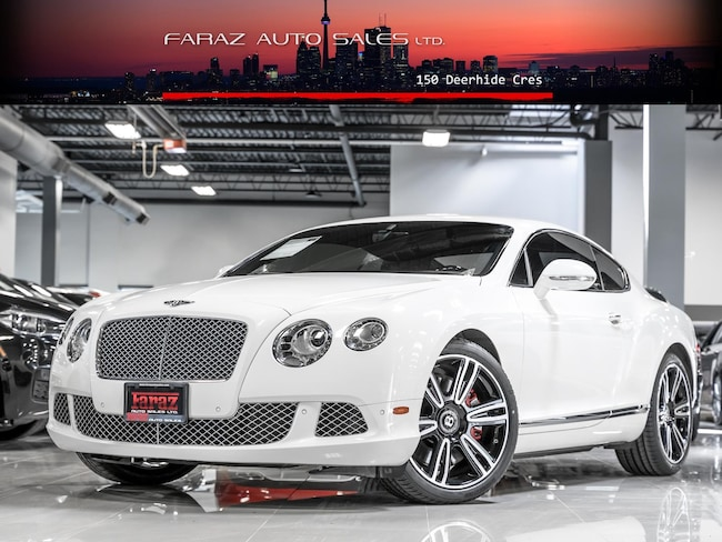 Used 2012 Bentley Continental GT W12 TWIN TURBO|COUPE|MASSAGE|NAVI|REAR CAM|LOADED Coupe in Toronto