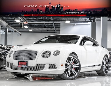 Featured Used 2012 Bentley Continental GT W12 TWIN TURBO|COUPE|MASSAGE|NAVI|REAR CAM|LOADED Coupe in Toronto