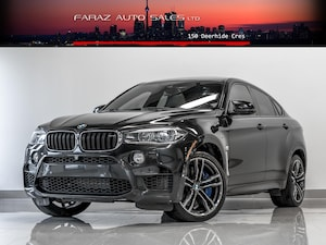 2016 BMW X6 M M|HEADS UP|B.SPOT|LANE ASSIST|CARBON FBR|FULLY