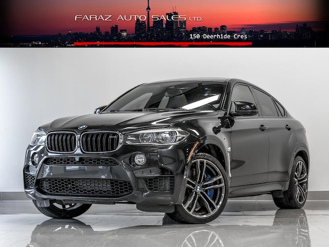 Used 2016 BMW X6 M M|HEADS UP|B.SPOT|LANE ASSIST|CARBON FBR|FULLY SUV in Toronto