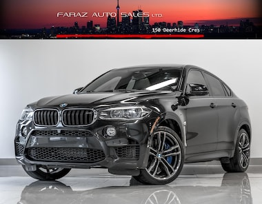 Featured Used 2016 BMW X6 M M|HEADS UP|B.SPOT|LANE ASSIST|CARBON FBR|FULLY SUV in Toronto