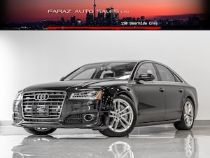 2017 Audi A8 4.0T V8|HUD|B.SPOT|360CAM|LANE ASSIST|FULLY LOADED