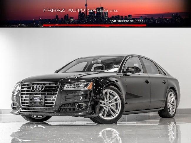 Used 2017 Audi A8 4.0T V8|HUD|B.SPOT|360CAM|LANE ASSIST|FULLY LOADED Sedan in Toronto