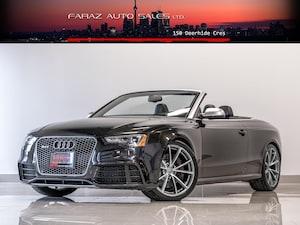 2014 Audi RS 5 TECHNIK|NAVI|REAR CAM|B&O|PANTHER BLACK|CONVERTIBL