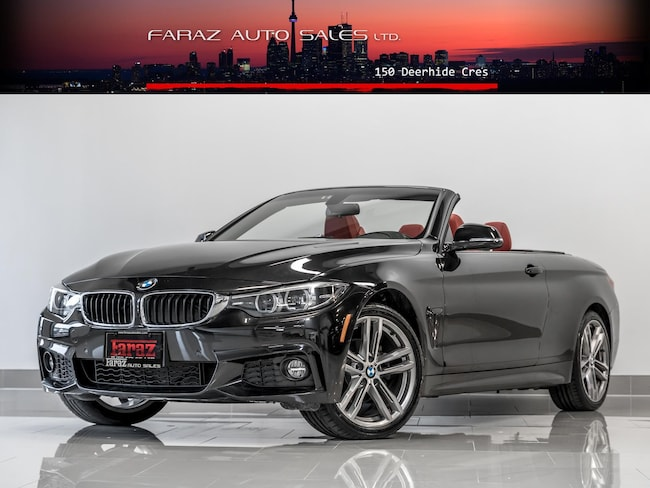 Used 2018 BMW 4 Series CONVERTIBLE|M SPORT|NAVI|REAR CAM|X-DRIVE|LOADED Convertible in Toronto