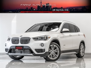 2016 BMW X1 2.8i|REAR CAM|PANO ROOF|X-DRIVE|LOADED
