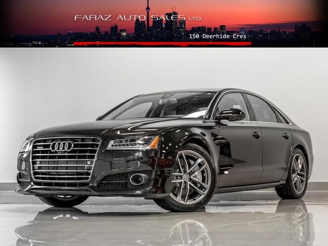 Used 2018 Audi A8 4.0T V8 HUD B.SPOT 360CAM LANE ASSIST FULLY LOADED Sedan in Toronto