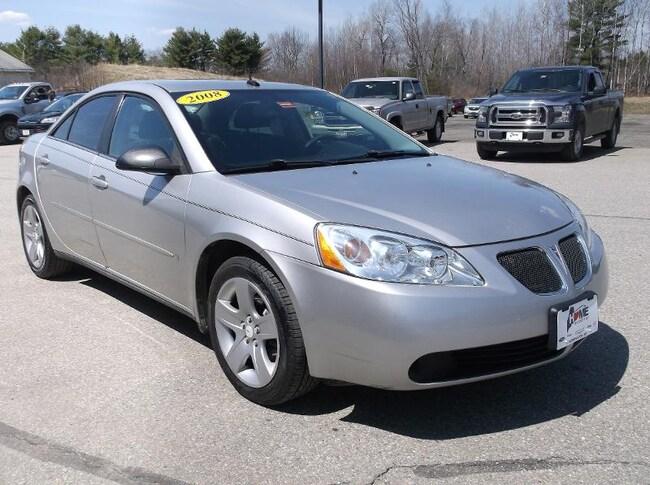 2008 Pontiac G6 Base Sedan