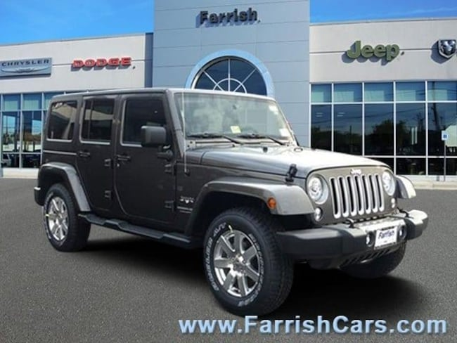 New 2018 Jeep Wrangler Unlimited WRANGLER JK UNLIMITED SAHARA 4X4 black interior 0 miles Stock 3