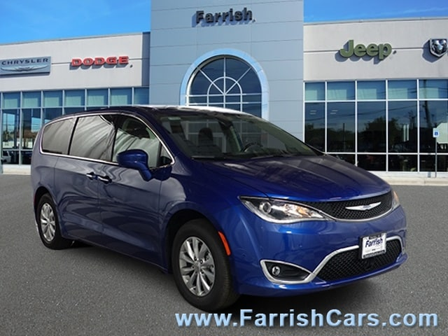 New 2019 Chrysler Pacifica TOURING PLUS ocean blue metallic exterior blackalloy interior 0 miles