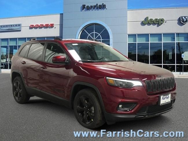 New 2019 Jeep Cherokee ALTITUDE FWD black interior 0 miles Stock 33434 VIN 1C4PJLLB0KD338844