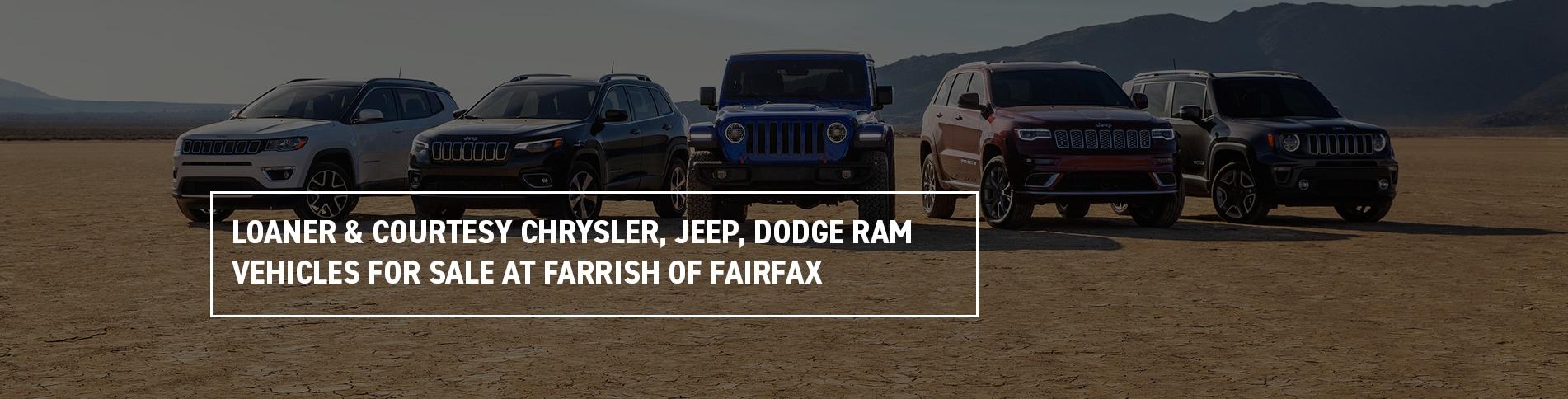 Courtesy Chrysler Jeep Dodge >> Loaner Courtesy Vehicles Farrish Chrysler Jeep Dodge