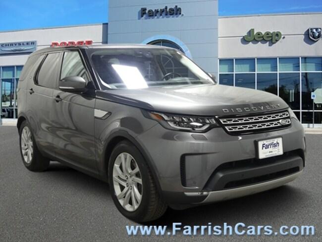 Used 2017 Land Rover Discovery HSE ebonyebony interior 26059 miles Stock C10474A VIN SALRRBB
