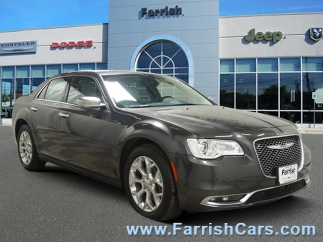 Used 2017 Chrysler 300 300C Platinum indigolinen interior 4331 miles Stock PC11690 VIN 2C3CC