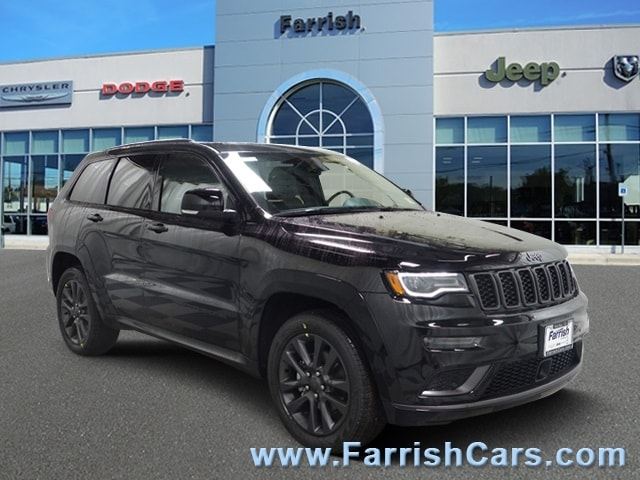 New 2019 Jeep Grand Cherokee HIGH ALTITUDE 4X4 diamond black crystal pearlcoat