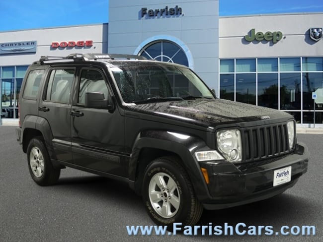 Used 2012 Jeep Liberty Sport dark slate gray interior interior 115218 miles Stock 32864A VIN