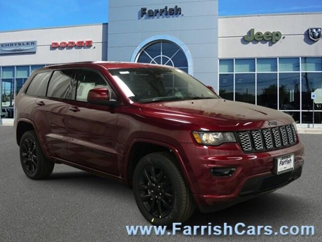 New 2019 Jeep Grand Cherokee ALTITUDE 4X4 black interior 0 miles Stock 33335 VIN 1C4RJFAG4KC58
