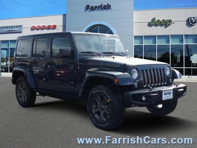 New 2018 Jeep Wrangler JK UNLIMITED GOLDEN EAGLE 4X4 rhino exterior black interior Stock 32098