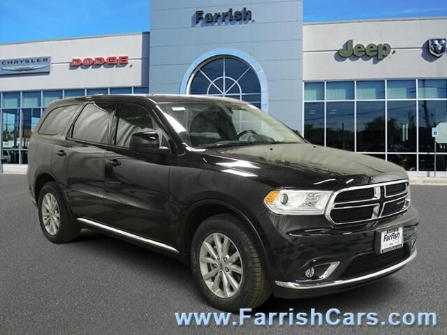 New 2019 Dodge Durango SXT RWD db black exterior black interior 0 miles Stock D9345 VIN 1C4RD