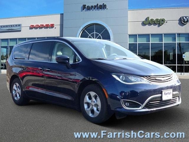 New 2018 Chrysler Pacifica Hybrid TOURING PLUS blue pearl exterior black interior Stock C10322