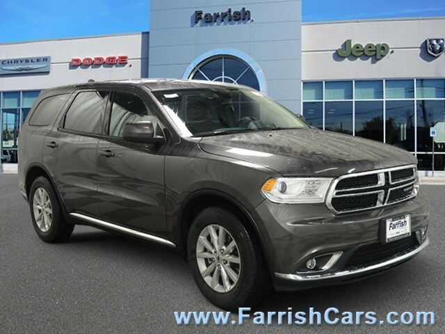 New 2019 Dodge Durango SXT RWD granite exterior black interior 0 miles Stock D9336 VIN 1C4RDH