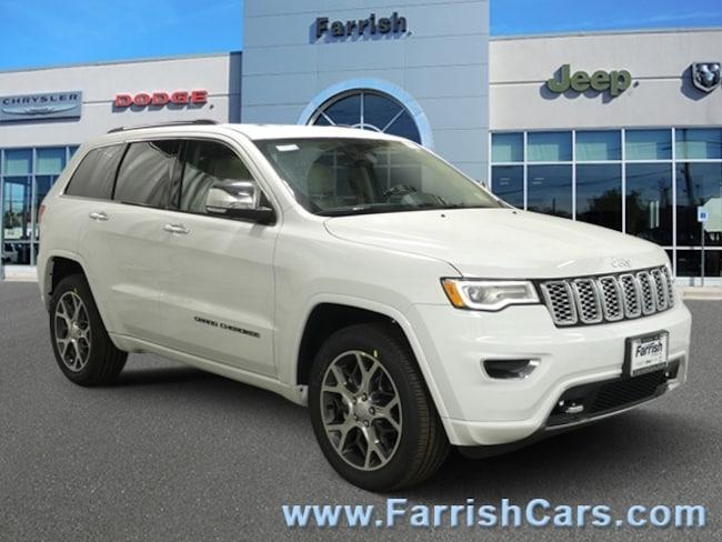 New 2019 Jeep Grand Cherokee OVERLAND 4X4 light frostbrown interior 0 miles Stock 33336 VIN 1