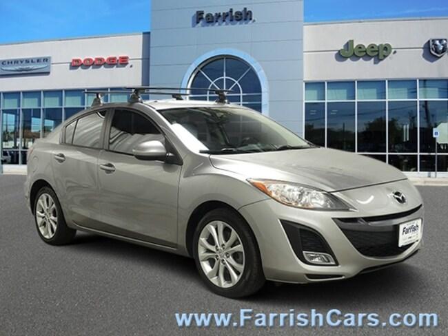 Used 2010 Mazda Mazda3 s Sport black interior 69092 miles Stock 33474A VIN JM1BL1S54A1340908