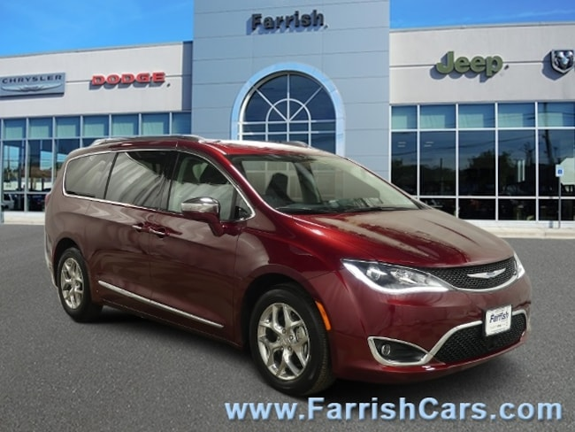 Used 2018 Chrysler Pacifica Limited blackalloy interior 7092 miles Stock PC11711 VIN 2C4RC1G