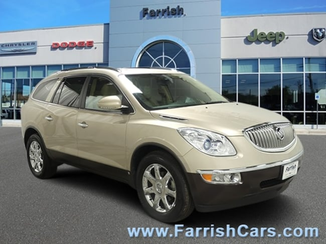Used 2009 Buick Enclave CXL cashmere wcocoa accents interior 93986 miles Stock S19878A VIN 5