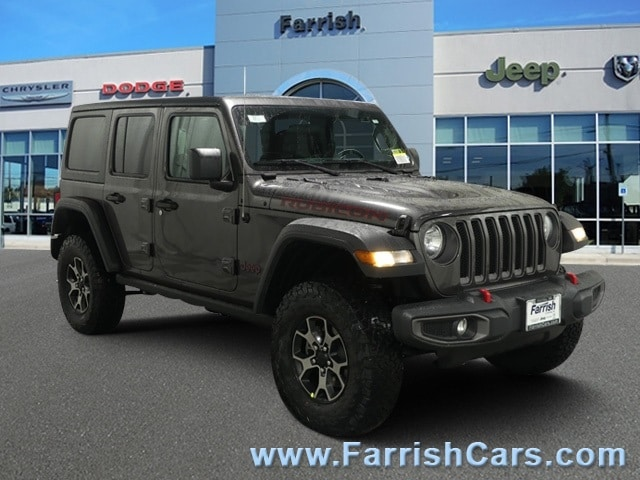 New 2019 Jeep Wrangler UNLIMITED RUBICON 4X4 crystal metallic exterior black interior 0 miles St