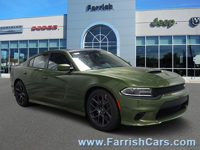 New 2019 Dodge Charger RT RWD f8 green exterior black interior 0 miles Stock D9312 VIN 2C3CD