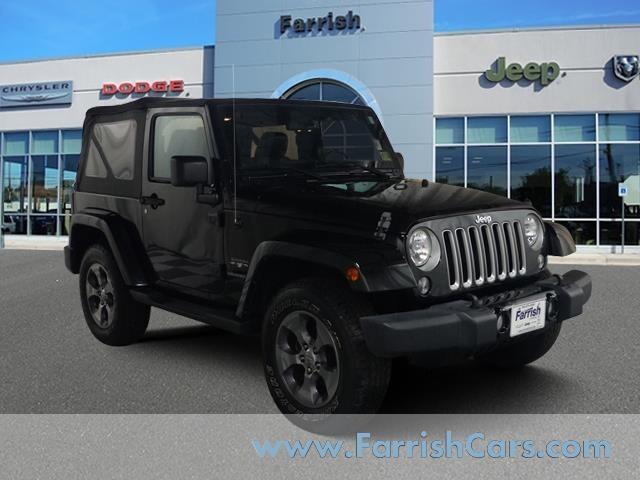 2016 Jeep Wrangler 4WD  Sahara