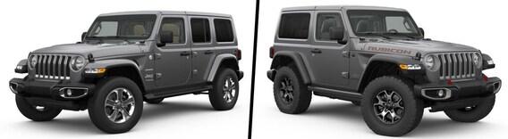Compare 2019 Jeep Wrangler Sahara Vs Jeep Wrangler Rubicon Fairfax Va