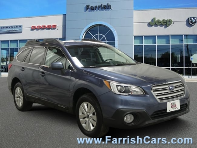 Used 2017 Subaru Outback Premium slate black interior 14226 miles Stock S19879A VIN 4S4BSACC1