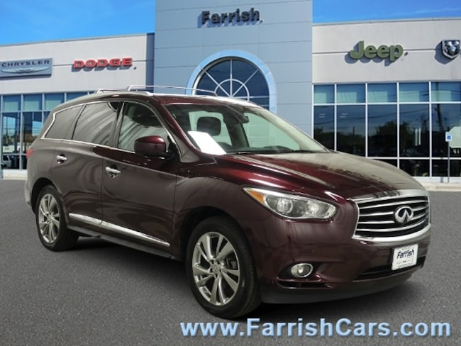 Used 2013 INFINITI JX35 2013 graphite interior 82359 miles Stock C10540A VIN 5N1AL0MM2DC34403