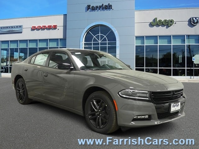 New 2019 Dodge Charger SXT AWD gray clearcoat exterior black interior 0 miles Stock D9330 VIN