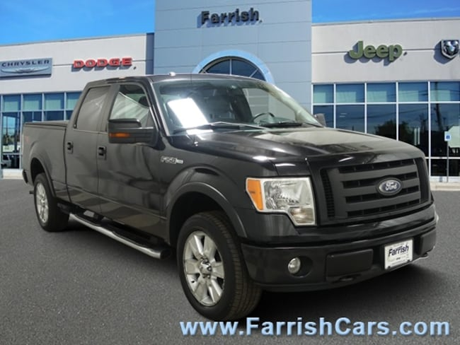 Used 2010 Ford F-150 FX4 black interior 141789 miles Stock 33129A VIN 1FTFW1EV1AFC21947