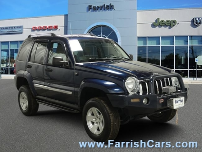 Used 2007 Jeep Liberty Limited dklt slate gray interior 91075 miles Stock S19623B VIN 1J4GL5