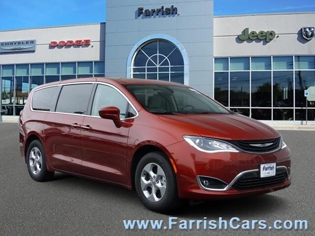 New 2018 Chrysler Pacifica Hybrid TOURING PLUS copper exterior black interior Stock C10334 VIN
