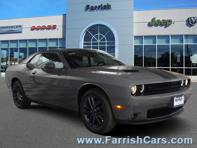 New 2019 Dodge Challenger SXT AWD gray clearcoat exterior black interior 0 miles Stock D9254 V