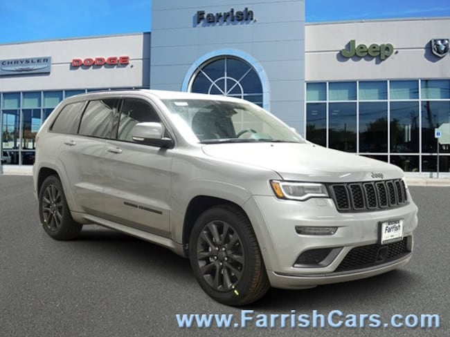 New 2019 Jeep Grand Cherokee HIGH ALTITUDE 4X4 black interior 0 miles Stock 33578 VIN 1C4RJFCG