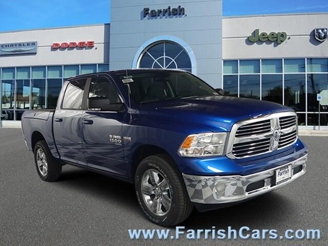 New 2019 Ram 1C6RR7LT2KS535325 2019 blue streak exterior diesel grayblack interior Stock D9244